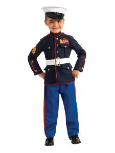 Marine Dress Blues Toddler Costume