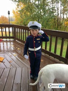 Marine Dress Uniform Costume