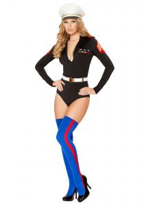 Marine Girl Halloween Costume