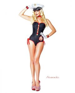 Marine Pin Up Costume