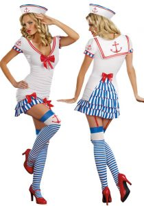 Marine Sailor Womam Costume
