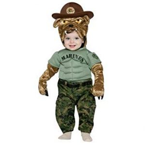 Marine Toddler Costume