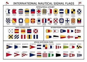 Nautical Flags Poster