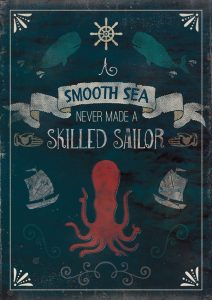Nautical Quotes Poster