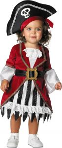 Newborn Girl Pirate Costume