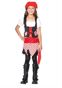 Petite Pirate Child Costume