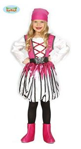 Pink Pirate Costume Child