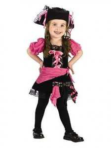 Pink Pirate Costume Toddler