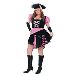 Pink Punk Pirate Costume
