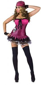 Pink Skull Pirate Costume