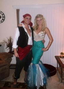 Pirate And Mermaid Costume