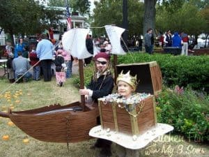 Pirate And Treasure Chest Costume