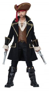 Pirate Captain Costume Boy