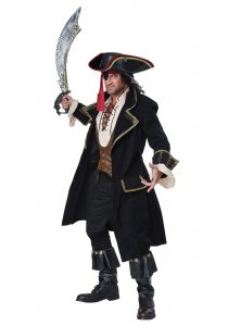Pirate Captain Costume Men