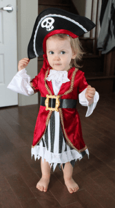 Pirate Costume 1 Year Old