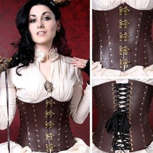 Pirate Costume Corset Vest