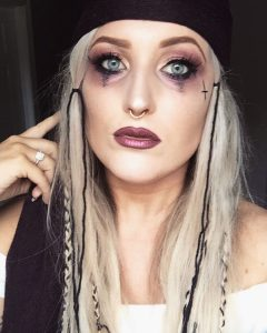 Pirate Costume Eye Makeup