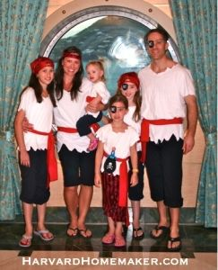 Pirate Costume For Disney Cruise