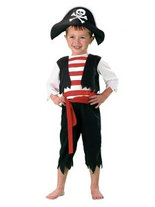 Pirate Costume For Toddler Boy