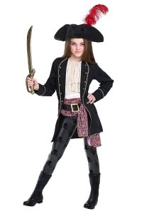 Pirate Costume Girl