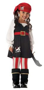Pirate Costume Girl Toddler