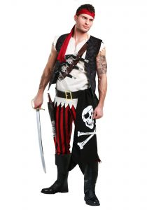Pirate Costume Halloween Men