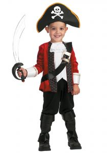 Pirate Costume Kid