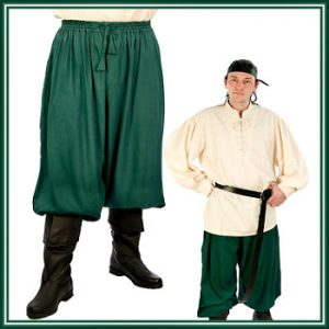 Pirate Costume Pants For Men