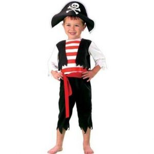 Pirate Costume Size 2t