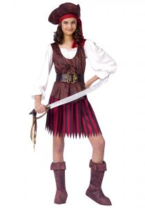 Pirate Costume Teenage Girl