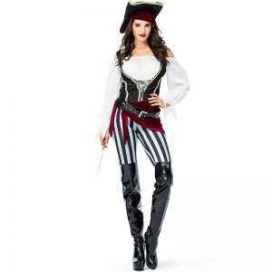 Pirate Costume Women Pants