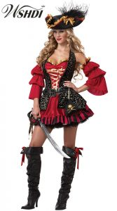 Pirate Costume Women Xl