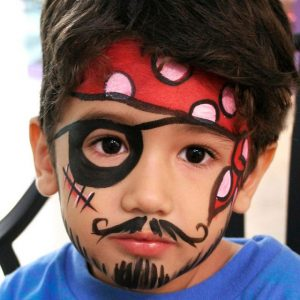 Pirate Face Costume