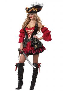 Pirate Girl Costume Adults