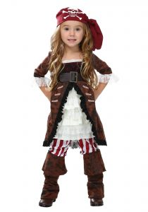 Pirate Halloween Costume For Toddler Girl