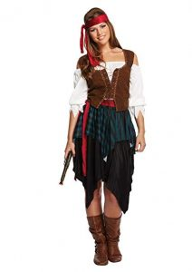 Pirate Lady Fancy Dress Costume