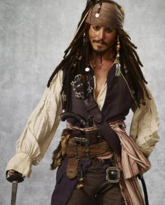 Pirate Of The Caribbean Johnny Depp Costume