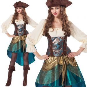 Pirate Princess Costume For Adults