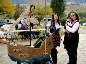 Pirate Stroller Costume