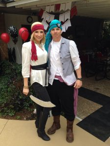 Pirate Themed Costume