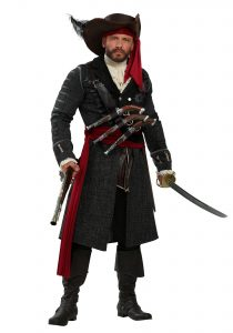 Plus Size Pirate Costume Men