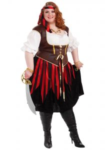 Plus Size Woman Pirate Costume