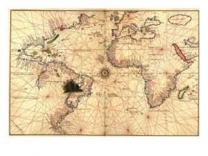 Poster Of Nautical Maps