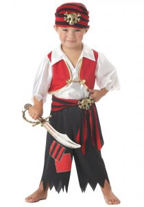 Pretty Pirate Child Costume