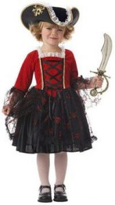 Pretty Pirate Princess Toddler Costume