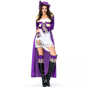 Purple Pirate Costume