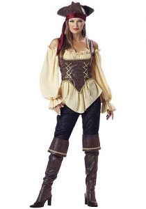 Realistic Female Pirate Costume