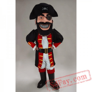 Red Beard Pirate Costume