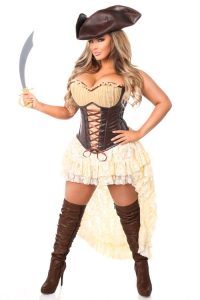 Sexy Plus Size Pirate Costume