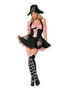 Sexy Treasure Hunt Pirate Costume